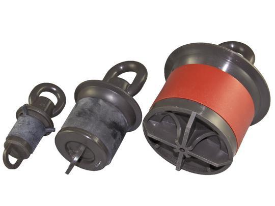 Blank duct plugs
