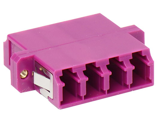 Fiber optic connection adapters