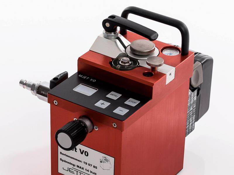 Inblaasmachine MJet V0 - Inblaasmachine V0