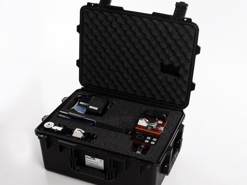 Inblaasmachine MJet V0 - blaasmachine met transportkist