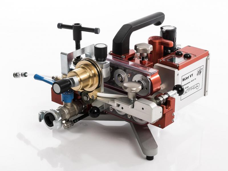 Inblaasmachine MJet V1 - Blaasmachine Jetting V1